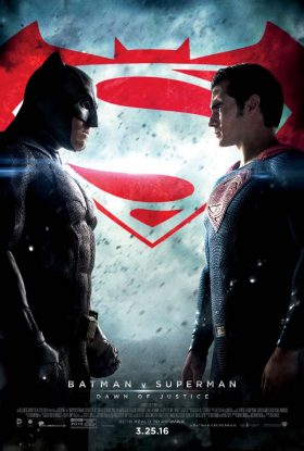 Batman v Superman Dawn of Justice Official Movie Poster