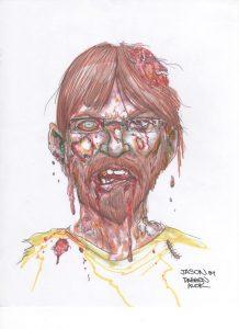 Zombie Palmer by Darren Auck