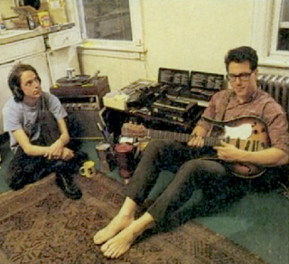 John and John from TMBG circa 1990
