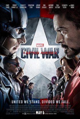 Captain America Civil War Marvel Movie Poster