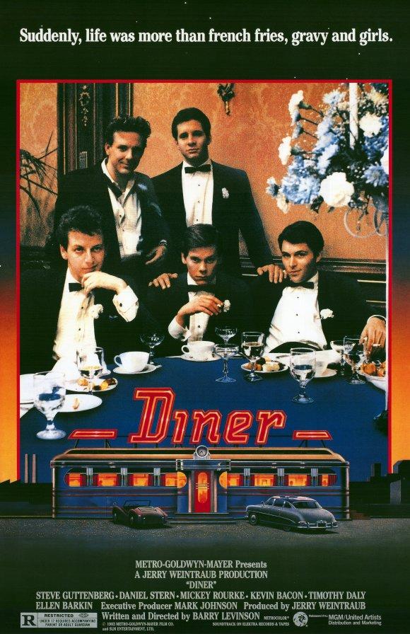 Diner Movie Poster 1982