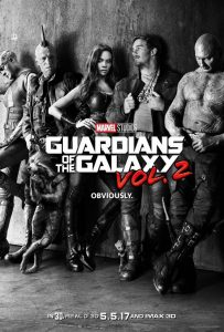 Guardians of the Galaxy Vol 2 Official Movie Poster