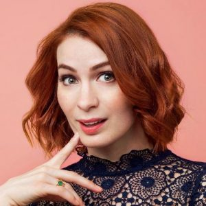 Felicia Day the Queen of Geek