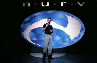 Winston with NURV logo