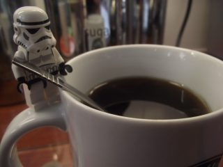 Lego A Cup of Coffee by Jennatrixx