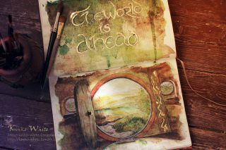 The world is ahead by Kinko-White