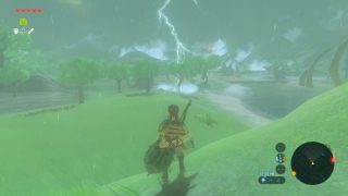 The weather effects of this game are insane