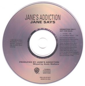 Jane Says by Jane's Addiction