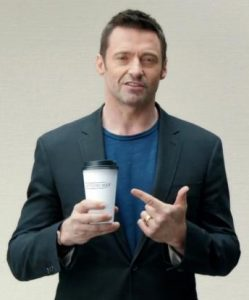 Hugh Jackman Coffee Quote