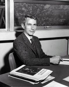 Claude Shannon at work