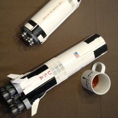 Fly Me to the Moon Lego Saturn V Rocket