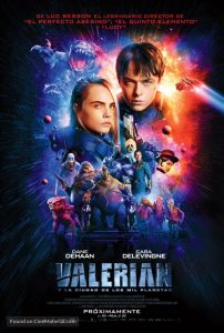 Valerian and the City of a Thousand Planets Movie Poster Alternate