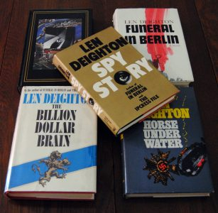 A small portion of my Len Deighton Collection