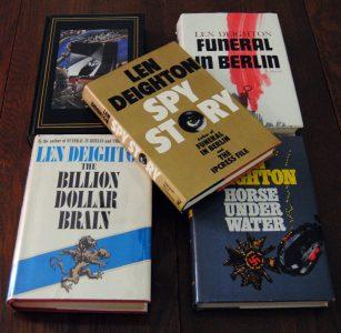 A small portion of my Len Deighton Collection