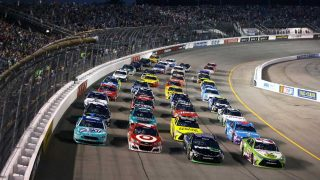 NASCAR is heading towards the Finish
