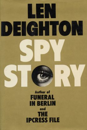 Spy Story by Len Deighton Original Book Cover