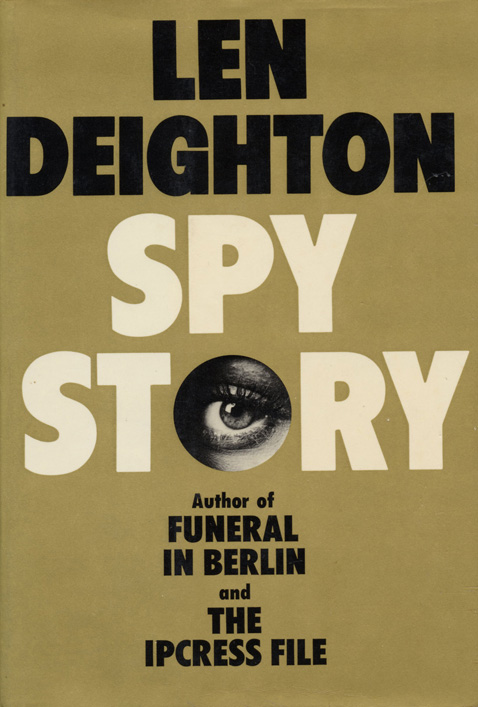 Spy Story by Len Deighton Original Book Cover