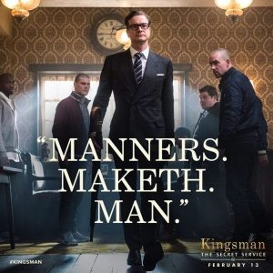 Manners. Maketh. Man.