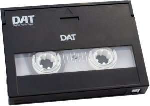 A digital audio tape