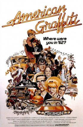 American Graffiti Movie Poster