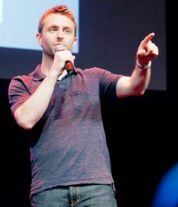 Chris Hardwick host of Nerdist Podcast