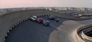 Filmed atop the Fiat Factory