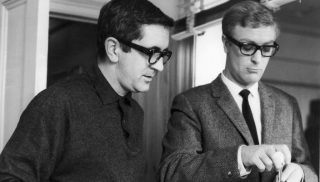 Len Deighton cooking with Harry Palmer