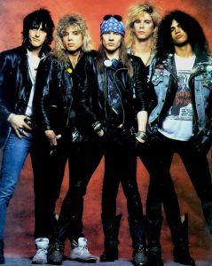 Original Guns N' Roses Line up