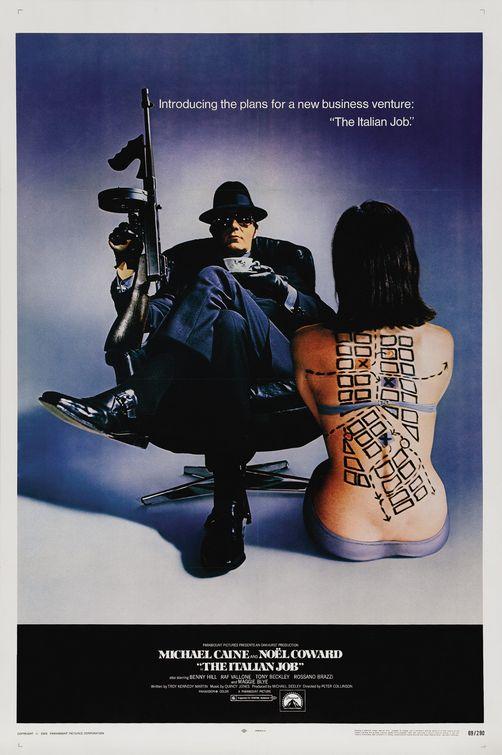 The Italian Job 1969 Movie Poster