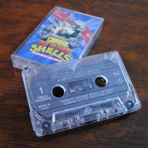 Coming Out of Our Shells by Teenage Mutant Ninja Turtles Cassette