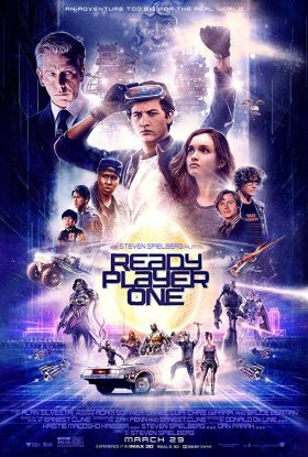 Ready Player One Movie Poster A Steven Spielberg Film