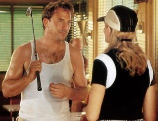 Costner and Russo Tin Cup