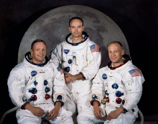 Apollo 11 Crew: Armstrong, Collins, and Aldrin