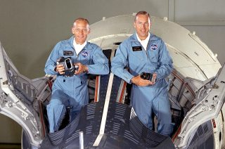 Gemini 12 Aldrin and Lovell