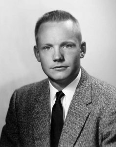 Neil Armstrong portrait from 1959