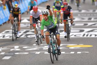 Peter Sagan Wins the Sprint