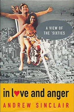 In Love And Anger by Andrew Sinclair Book Cover