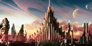 Asgard Landscape by Aiden Wilson