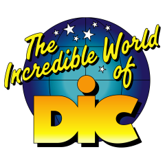 The Incredible World of DiC Logo