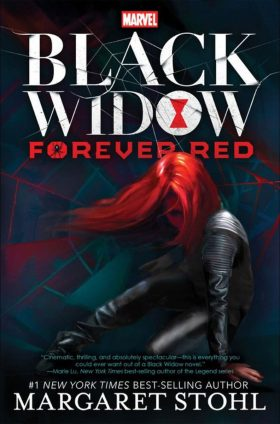 Black Widow Forever Red Margaret Stohl Book Cover