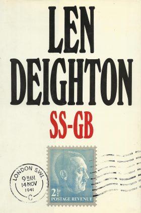 SS-GB Len Deighton Book Cover