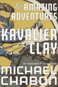 First Edition Cover of The Amazing Adventures of Kavalier and Clay by Michael Chabon