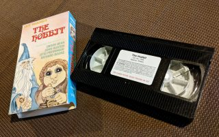My VHS Copy of The Hobbit