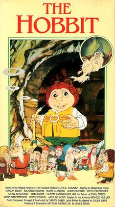 The Hobbit 1977 Original Film Poster