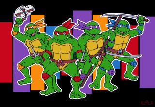 Turtle Power by Red Flare