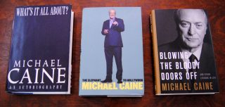 Michael Caine Autobiography Trilogy