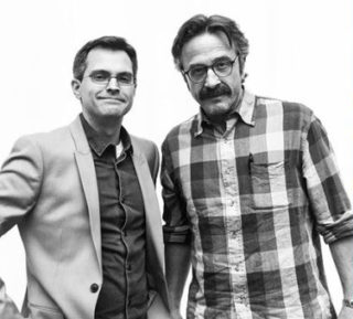Brendan McDonald and Marc Maron