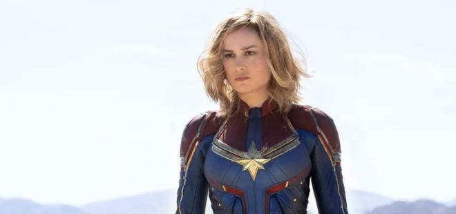 Captain Marvel Higher Further Faster and Right On Time