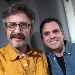 Marc Maron and Brendan McDonald WTF Podcast 1000 Episodes