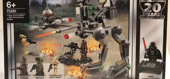 Lego Star Wars Clone Scout Walker 20th Anniversary Edition A
